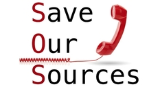 Save Our Sources logo