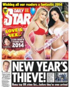 Daily Star Thieving Eastern Europeans