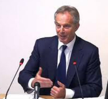 Tony Blair at Leveson inquiry
