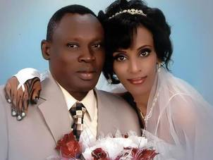 Meriam Ibrahim and husband