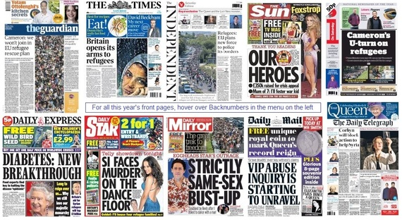 front pages 05-09-15
