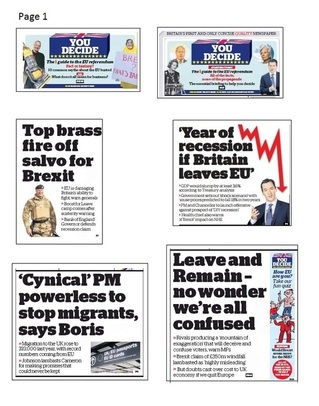 i front pages