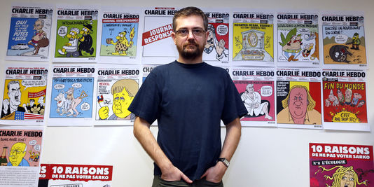 Charb and Charlie  Hebdo covers