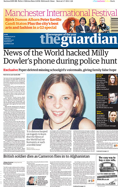 Guardian Milly Dowler