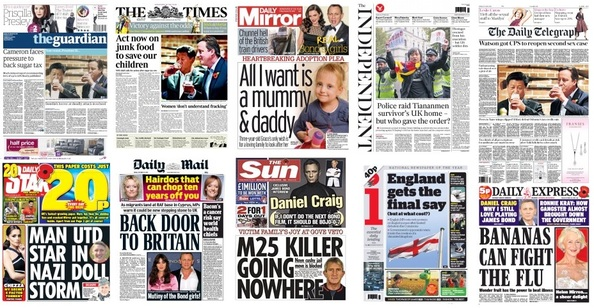 Front pages 23-10-15