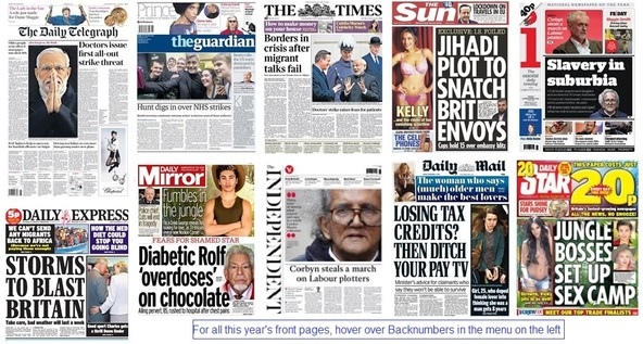 Front pages 13-11-15