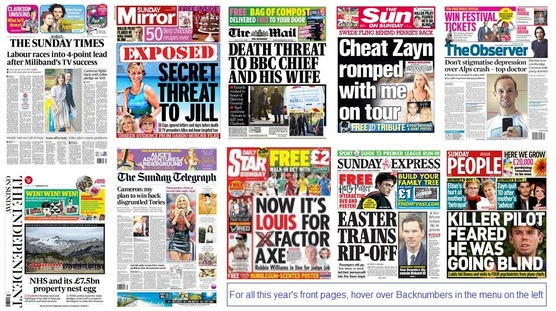 front pages 299-03-15
