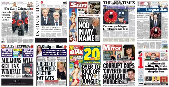 Front pages 09-11-15