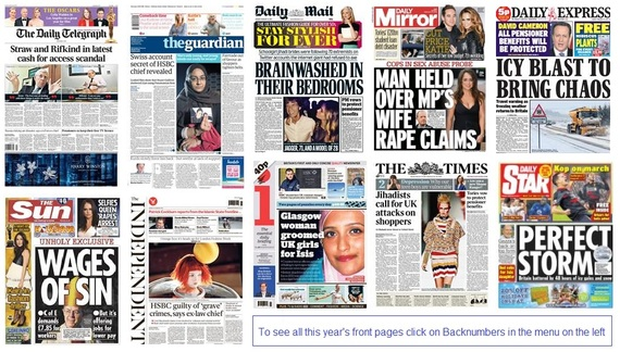 front pages 23-02-15