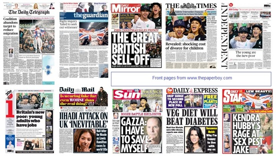 front pages 24-11-14