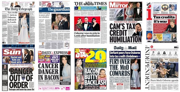Front pages 27-10-15
