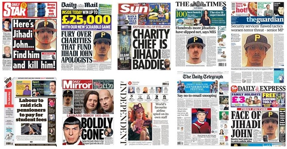 front pages 28-02-15