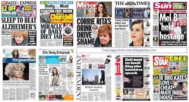 front pages 24-01-15