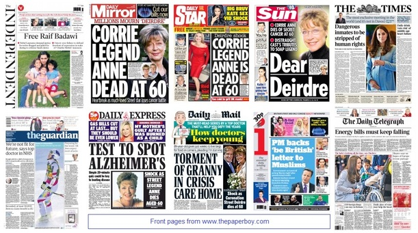 front pages 20-01-15