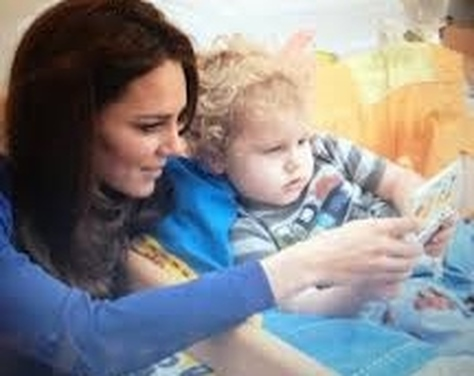 Dutchess of Cambridge visiting Colchester Hospital