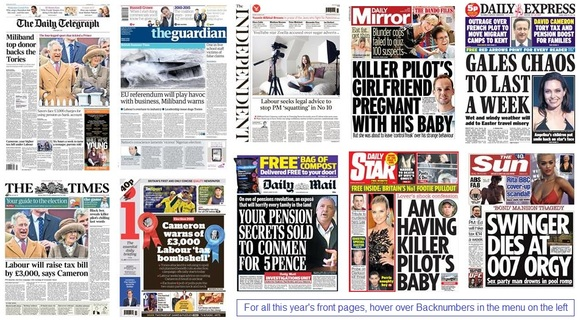 front pages 30-03-15