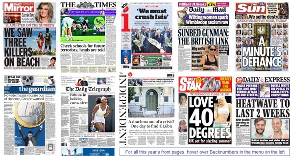 front pages 30-06-15