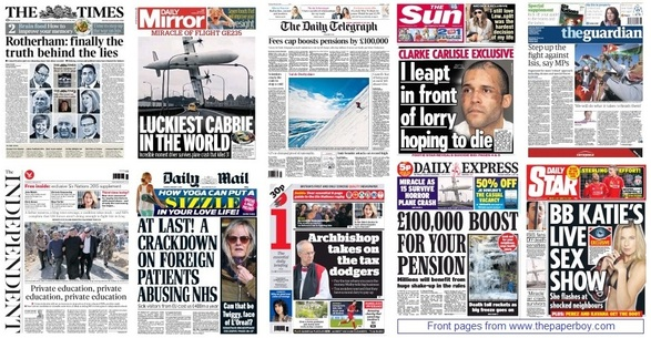front pages 05-02-15