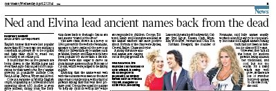 Times 'Ned' story