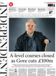 independent front page 03-02-2014