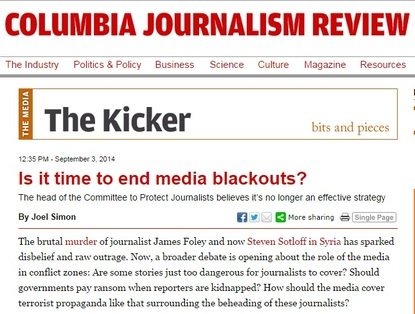 Media blackouts