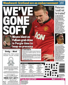 Daily Mail back page 10-02-14