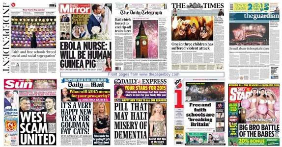 front pages 01-01-15