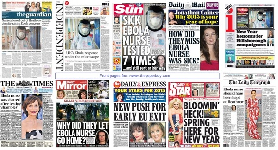 front pages 31-12-14