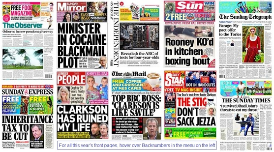 front pages 15-03-15