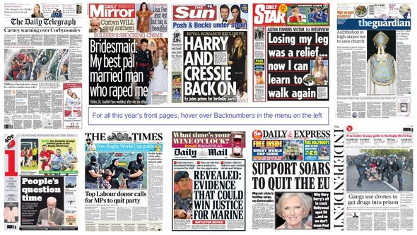 front pages 17-09-15