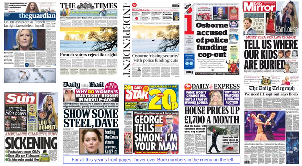 Front pages 14-12-15