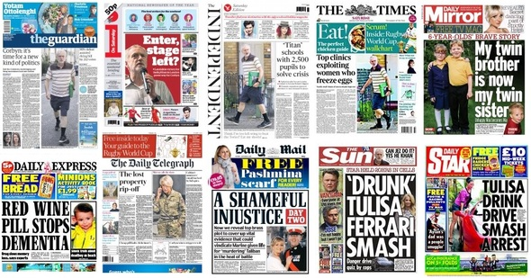 front pages 12-09-15