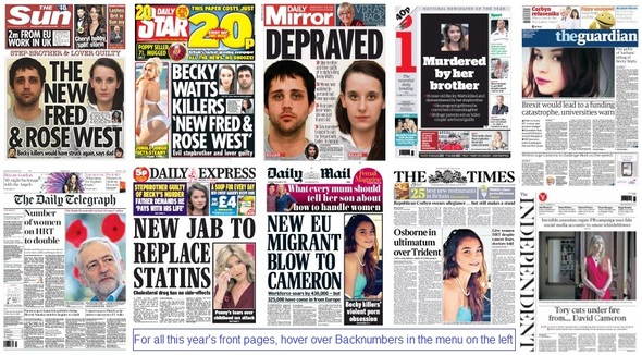 Front pages 12-11-15