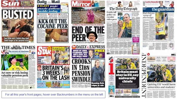 front pages 27-07-15