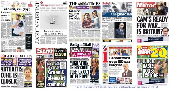 Front pages 27-11-15