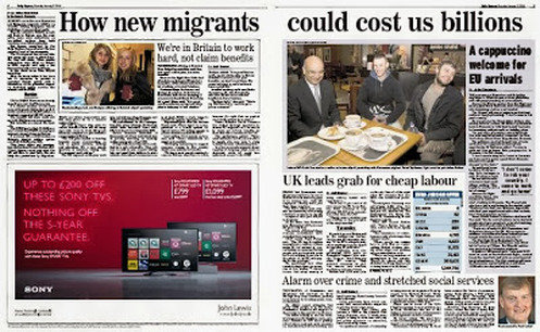 Express - new migrants to cost us millions