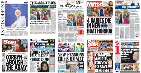front pages 14-09-15