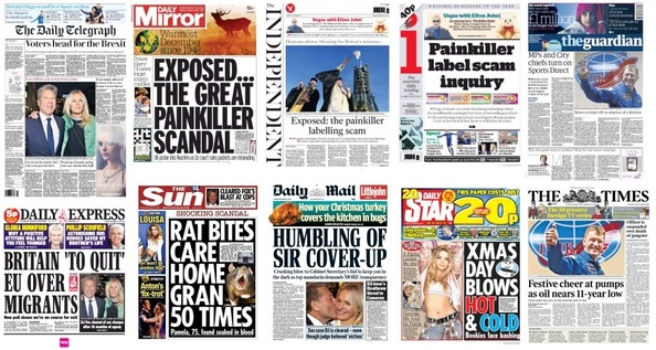 Front pages 15-12-15