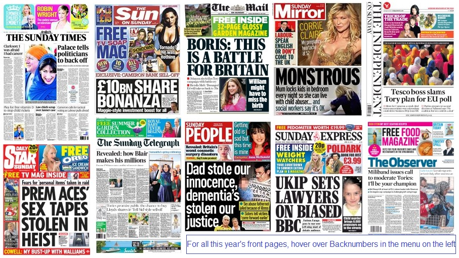 Front pages 19-04-15