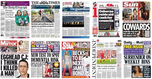 front pages 07-09-15