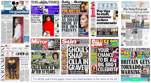 front pages 22-08-15