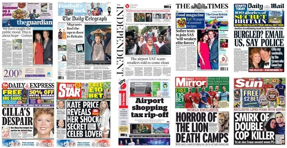 front pages 08-08-15
