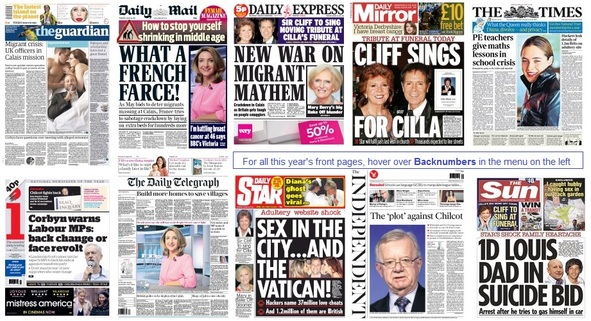 front pages 20-08-15