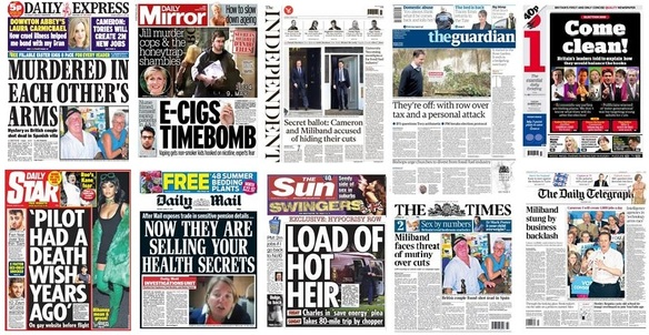 front pages 31-03-15