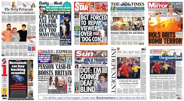 front pages 18-08-15