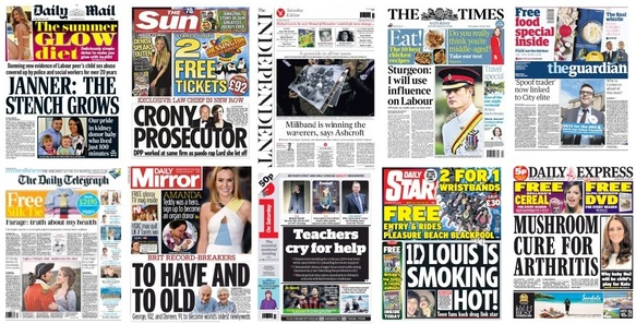 front pages 25-04-15