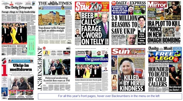 front pages 14-05-15