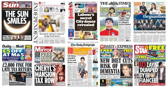 front pages 21-03-15