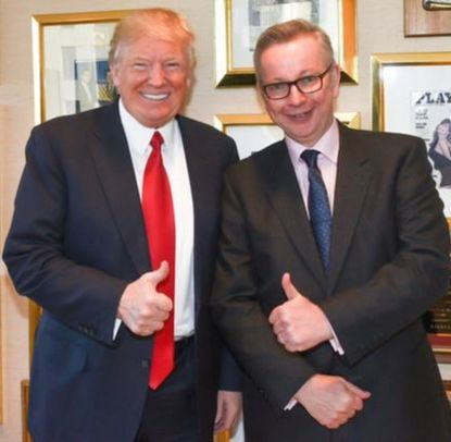 Gove and Trump